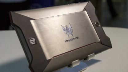 Das Gaming-Tablet Predator 8 auf der Computex