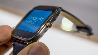 Asus' neue Android-Wear-Smartwatch Zenwatch 2