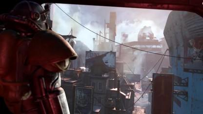 Screenshot aus dem ersten Trailer zu Fallout 4