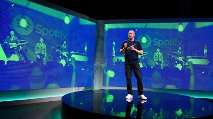 Spotify-Gründer Daniel Ek bei einer Veranstaltung in New York