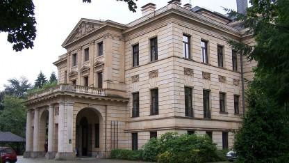 Villa Mumm: Hier sitzt das Zentralbüro für die Erdrotationsüberwachung.