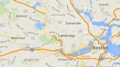 Boston und Umgebung auf Google Maps