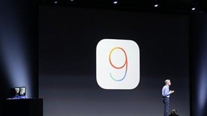 Craig Federighi zeigt iOS 9 und dessen neue Funktionen.