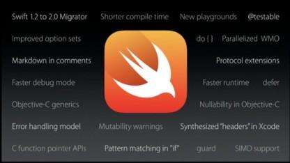 Swift 2.0 soll eine ganze Reihe neuer Funktionen erhalten.