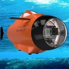 TTR-SB Seawolf: Fernsteuerbares U-Boot schickt Gopro auf Tauchfahrt