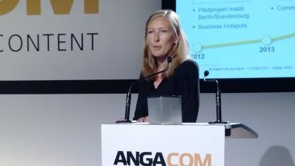 Isabel Aigner, Leiterin Produktmanagement WLAN bei Kabel Deutschland