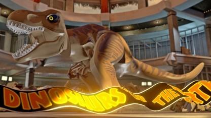 Der Tyrannosaurus Rex im Besucherzentrum des ersten Films