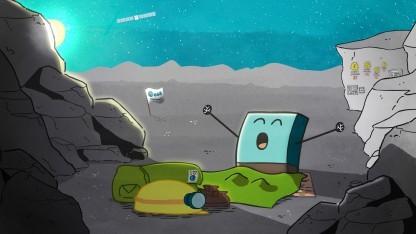 Philae wacht auf dem Komet Tschurjumow-Gerassimenko auf: austretende Gase und Staub beobachtet