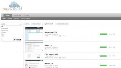Owncloud will die Entwicklung von externen Apps fördern.