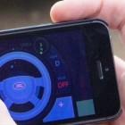 Fernsteuerung: Smartphone holt Geländewagen aus dem Matsch