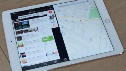 iOS 9 mit Multitasking auf dem Apple iPad Air 2