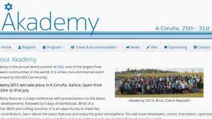 Zur Akademy treffen sich jährlich einige hundert KDE-Entwickler.