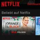 Streamingdienst: Netflix aktiviert verbesserte Oberfläche für Browsernutzer