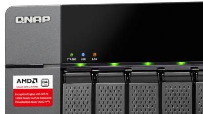 QNAPs TS-563 arbeitet mit einem G-Serie-AMD-SoC.