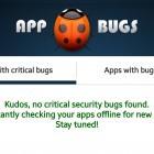 Android-Apps: Appbugs warnt vor Apps mit unsicheren Logins
