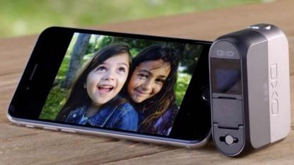 Mit der Dxo One lassen sich Fotos und Videos aufnehmen.