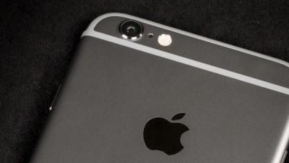 iPhone 6 mit Antennenstreifen