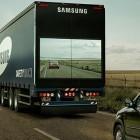 Samsung: Lkw-Anhänger mit Riesendisplays soll Sicherheit erhöhen