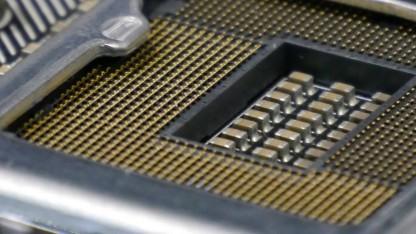 Auf der Computex 2015 waren schon zahlreiche Sockel-1151-Mainboards zu sehen.