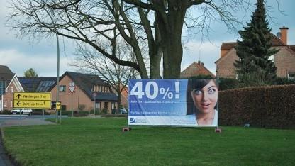 Werbegrafik der Deutschen Glasfaser