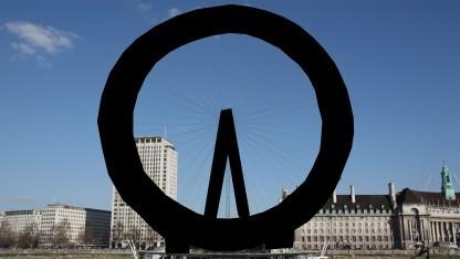 Das London Eye ist in der Wikipedia auf einigen Fotos geschwärzt.