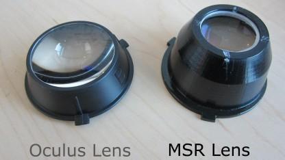 Linsen für Oculus Rift DK 2
