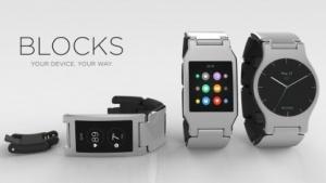 So könnte die modulare Smartwatch Blocks aussehen.