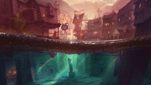 Artwork von The Bard's Tale 4