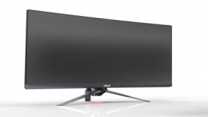 Gekrümmter ROG-Monitor im Ultra-Widescreen-Format