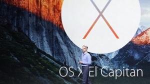 Craig Federighi stellt OS X 10.11 El Capitan vor.
