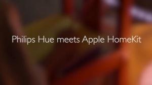 Vorankündigung der Hue-Homekit-Integration