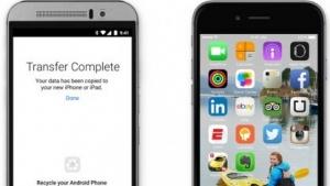 Apples Android-App Move soll die Migration erleichtern.