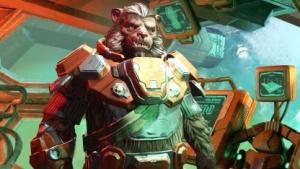 Eine der Rassen aus Master of Orion