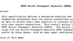 Microsoft unterstützt jetzt den RFC6797, der HSTS beschreibt.