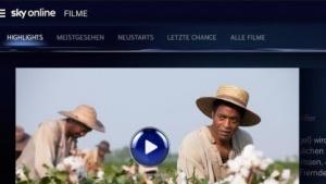 Sky Online mit erweitertem Programmangebot