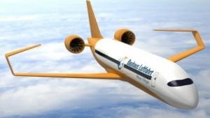 Konzept Ce-Liner: 190 Passagiere, 900 nautische Meilen, 30 Minuten Bodenabfertigung