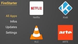 Fire Starter - alternativer Startbildschirm für Fire-TV-Geräte
