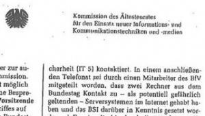 Ein Protokoll aus der IuK-Kommission des Bundestages klärt viele Details zum Hackerangriff auf den Bundestag auf.