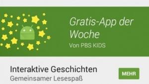 Play Store beginnt mit Gratis-App der Woche.