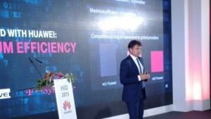 Ferri Abolhassan von T-Systems auf dem Huawei Innovation Day im Kaisersaal der Residenz von Bayern