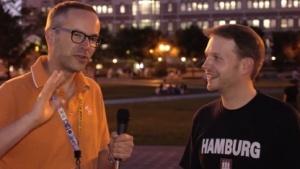 Peter Steinlechner und Michael Wieczorek auf der E3 2015