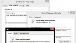 Duqu 2.0 nutzt gestohlene Zertifikate für die Installation seiner Treiber.