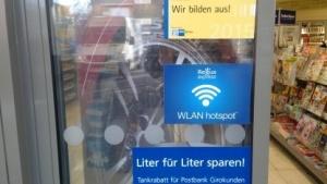 Tankstellen-WLAN in Berlin-Kreuzberg