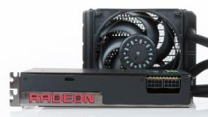 Radeon R9 Fury X mit AiO-Wasserkühlung mit 120-mm-Lüfter