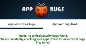 Appbugs meldete auf unserem Smartphone keine Schwachstelle. Wir hoffen, das stimmt auch.