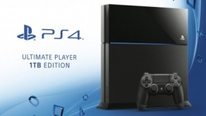 Playstation 4 mit 1 TByte