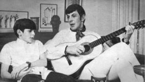 Adam Nimoy und sein Vater Leonard
