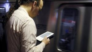 E-Booknutzung in der U-Bahn