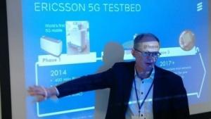 Magnus Frodigh, Leiter des Bereichs Drahtlose Zugangsnetze bei der Ericsson Forschung im Jahr 2015