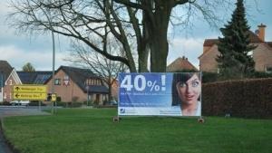 Werbeplakat der Deutschen Glasfaser